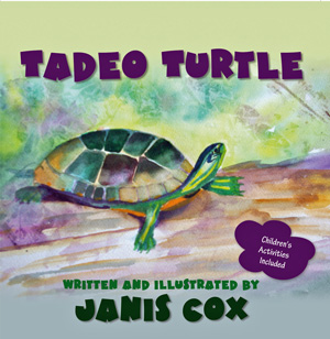 cover art for the book Tadeo Turtle