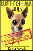 cover art: Duke the Chihuahua Writes