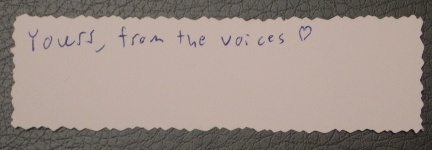 From the voices